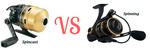 spincast vs spinning reel
