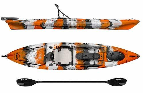 With A Whopping 4 5 Star Average Review The Vibe Kayaks Sea Ghost 130 Angler Is Undoubtedly Best Fishing Kayak For Money