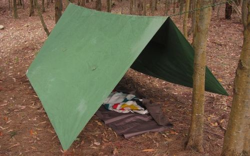 how to set up a tarp canopy