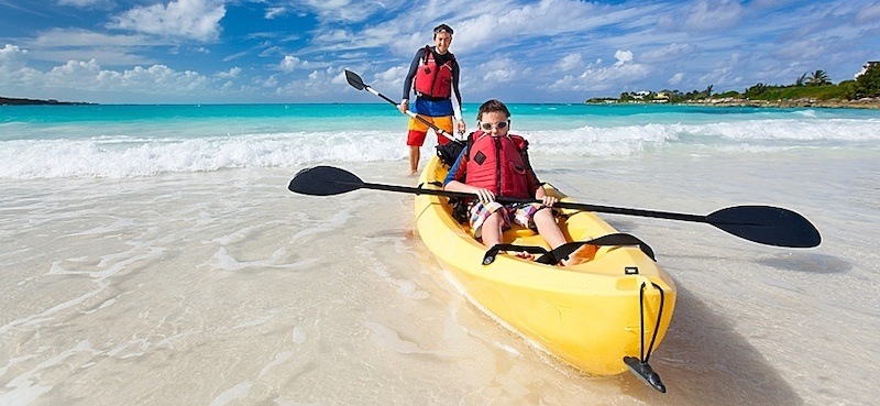 kayaking with kids or with a dog