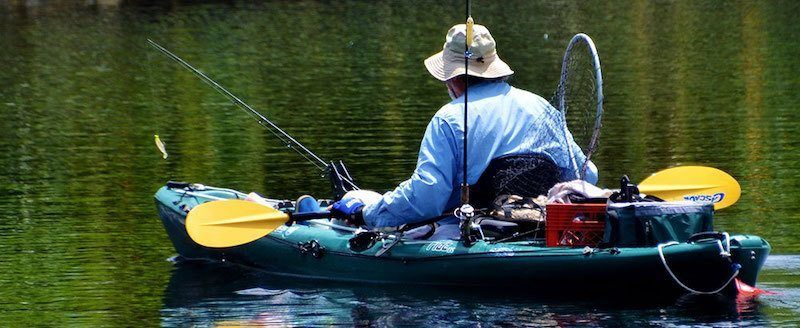 How to kayak fish