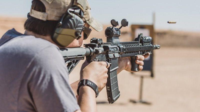 rifle shooting stance